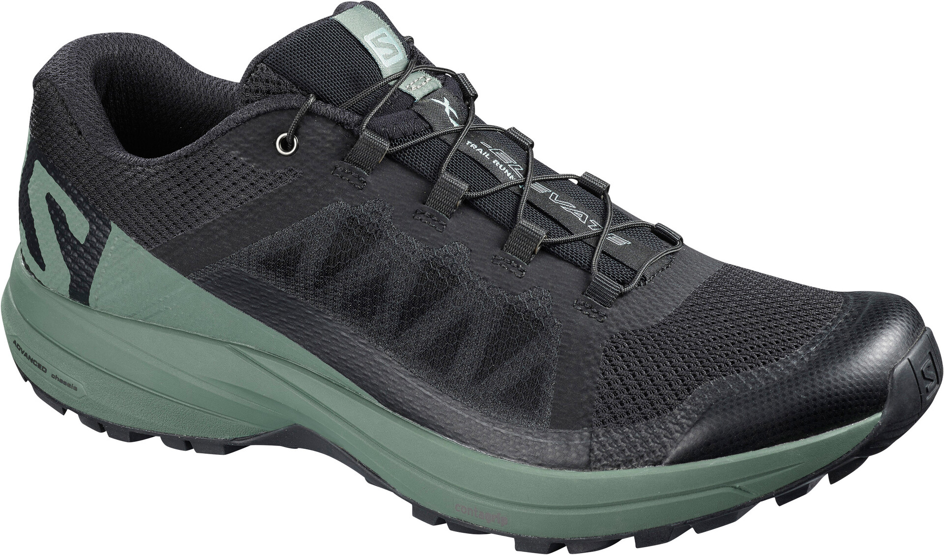 Salomon XA Elevate Shoes Herre blackbalsam greenblack